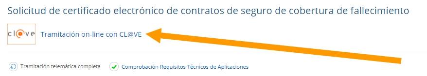 solicitar online modelo 790-006 y certificado contrato de seguros